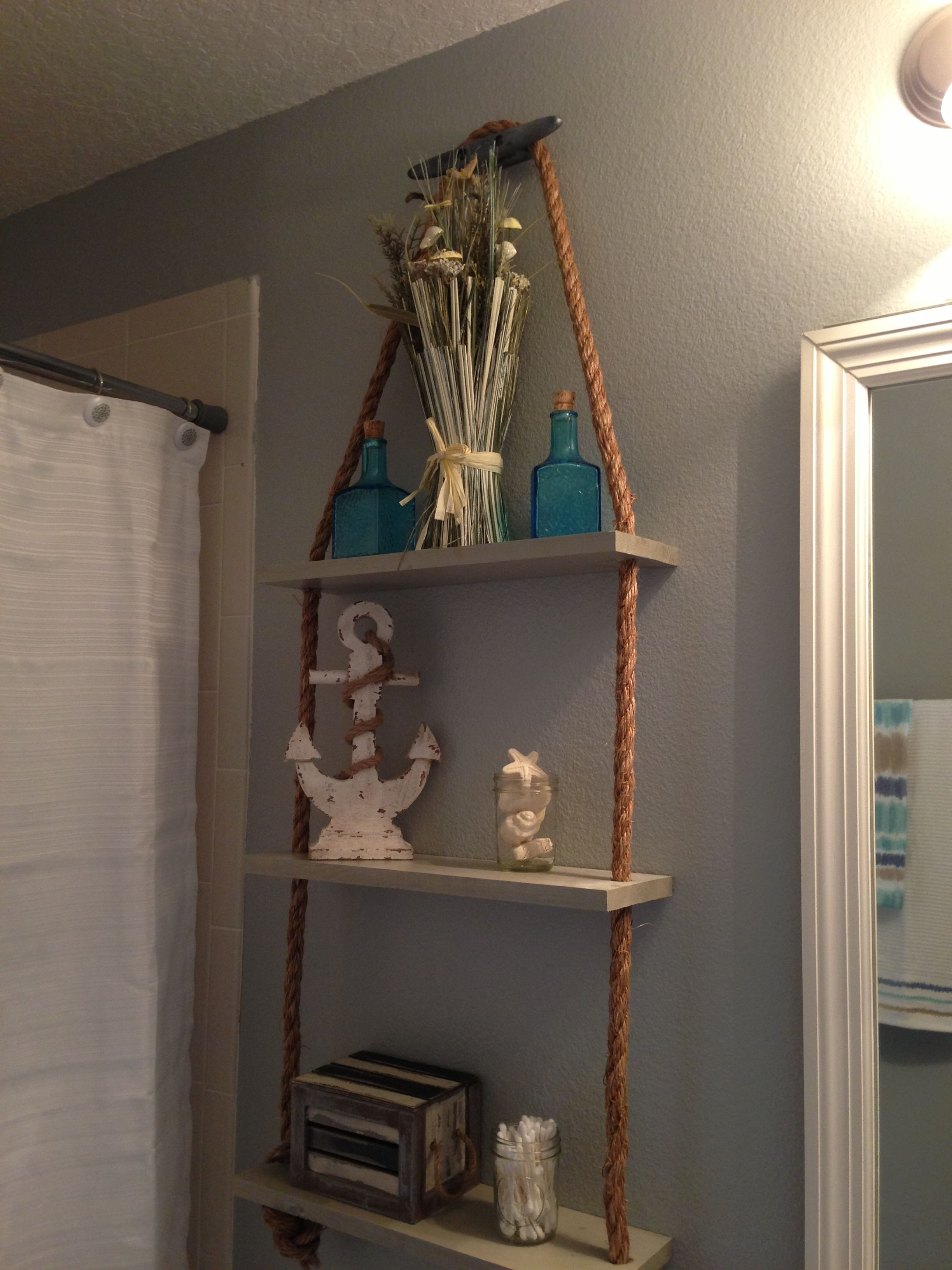 Diy Cabana Curtains Diy Nautical Shelf Cabana Ideas Pinterest Shelves