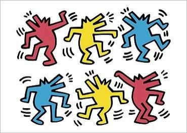 Keith Haring Iphone Wallpaper Keith Haring Dogs Google Search Keith Haring