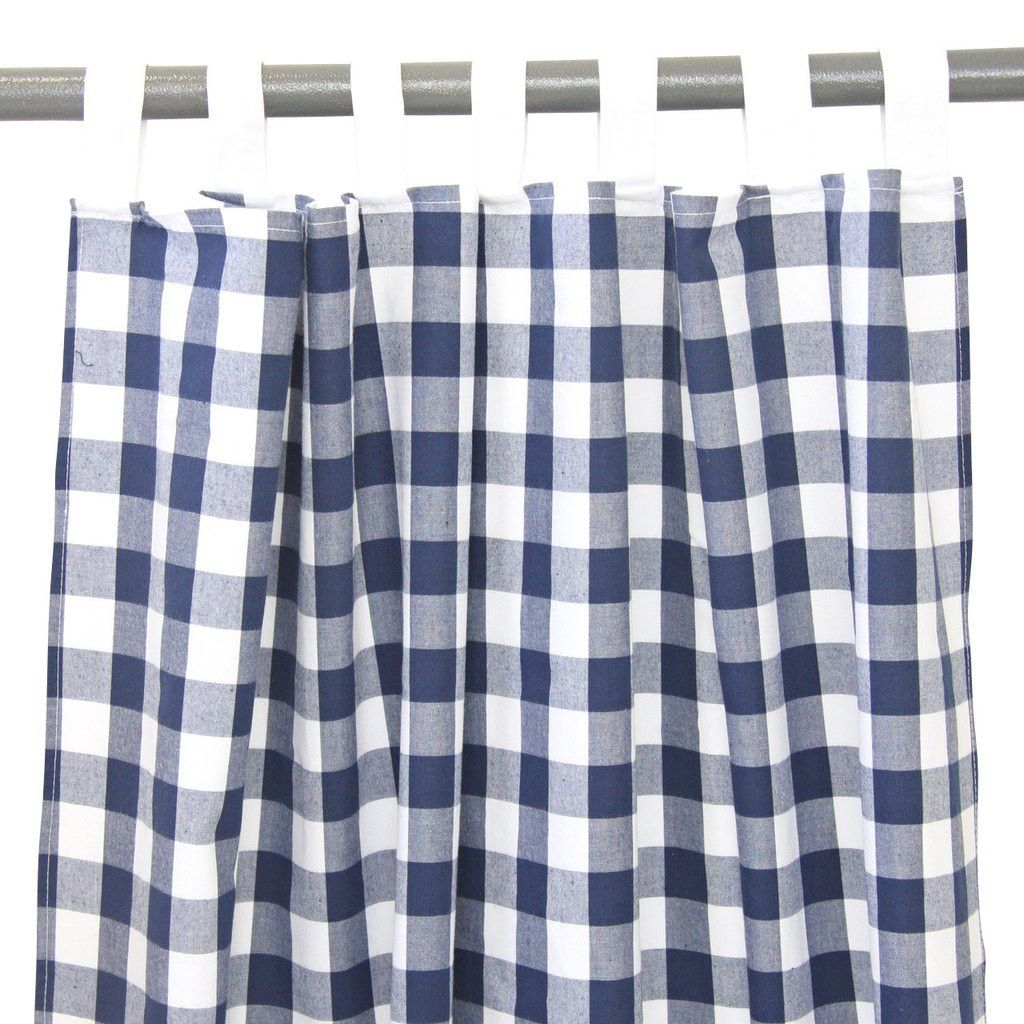 Karo Gardinen Navy Gingham Curtains | Products | Pinterest | Gingham