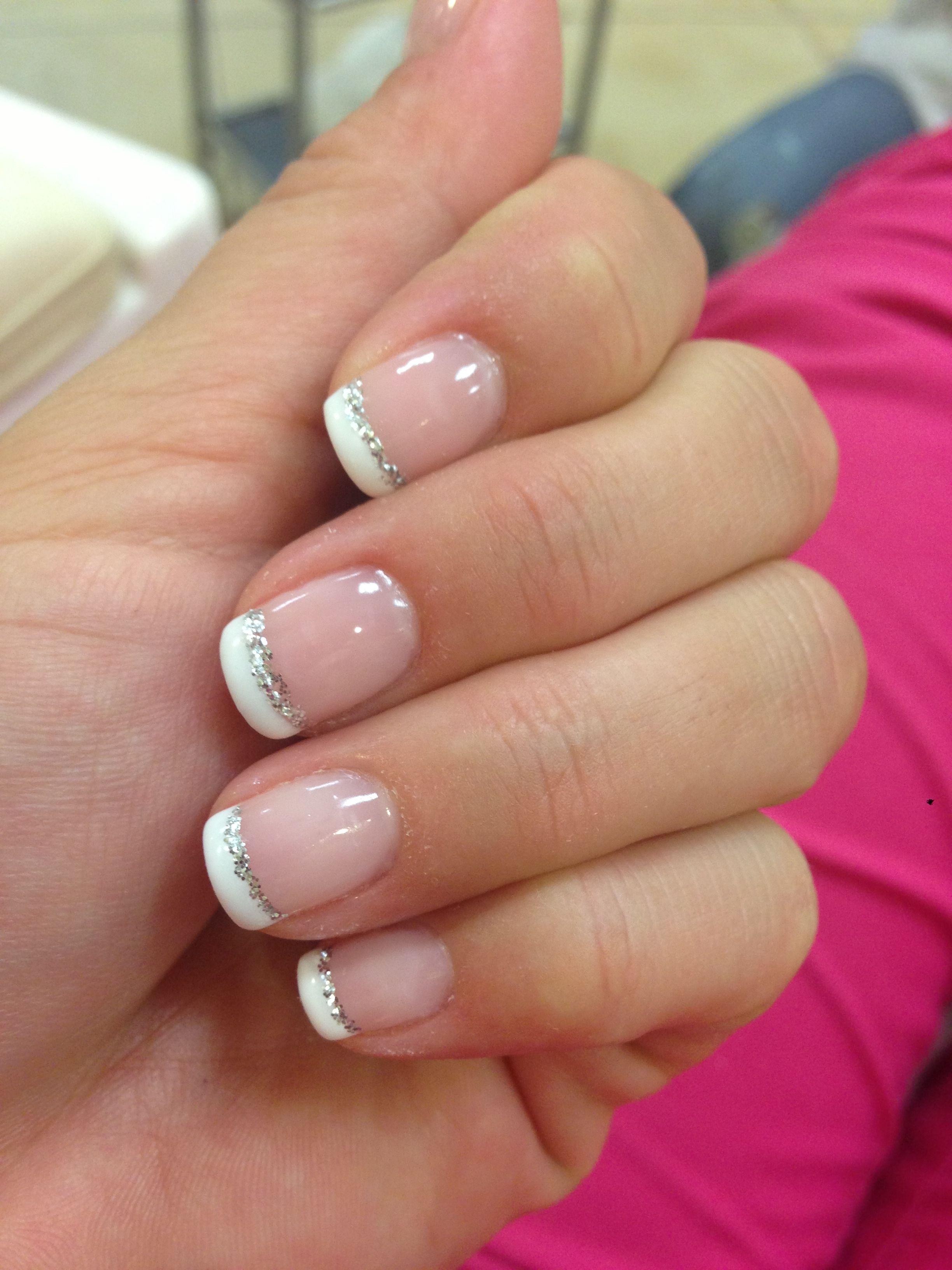 My Wedding Nails Beauty Pinterest Wedding French