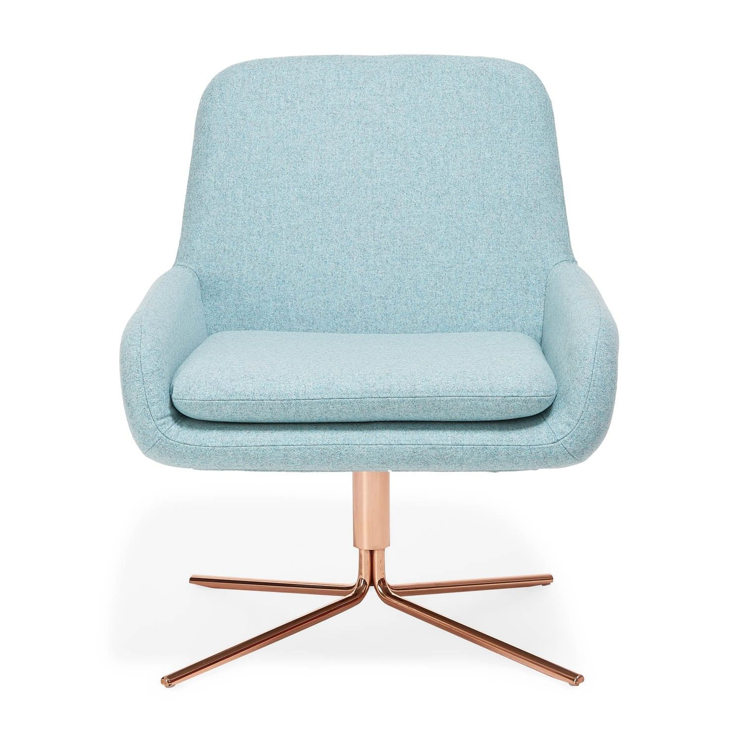 Softline pink swivel square chair drawing inspiration from mid century modern styles architects busk hertzog designed this organically shaped