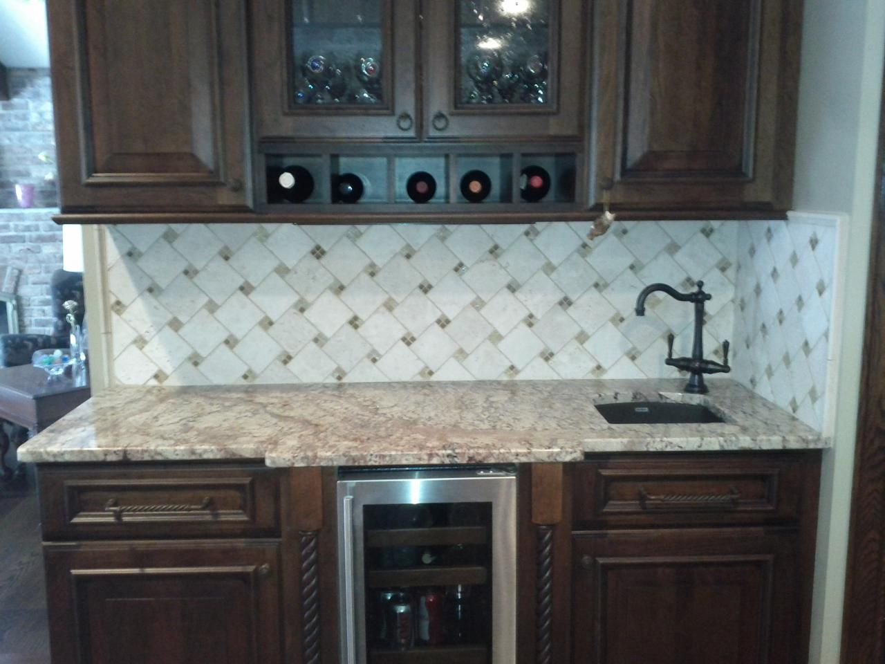 kitchen tile backslash kitchen backsplash 10 best images about kitchen tile backslash on Pinterest Kitchen backsplash design Marbles and Kitchen backsplash