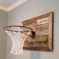boys basketball hoop in bedroom ideas hgtv | ... we made ...