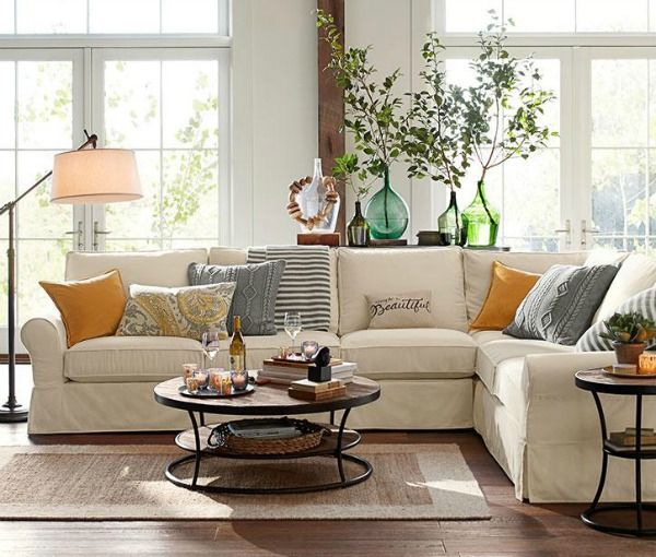 Decorating Your Living Room Must-Have Tips Beige couch, Living - beige couch living room