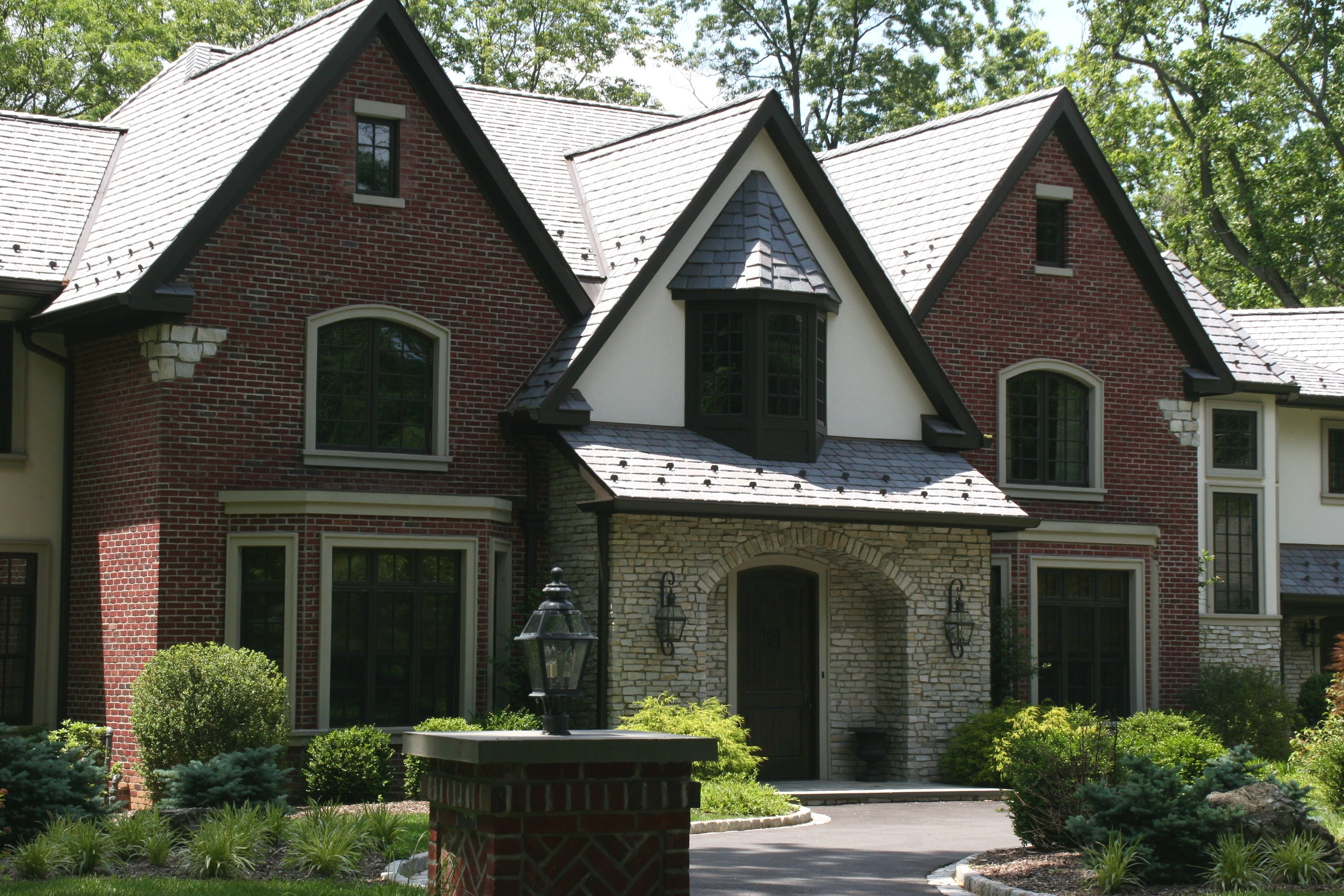 Brick And Stone Exterior Combinations Brick With Stucco And Stone Combinations Exterior