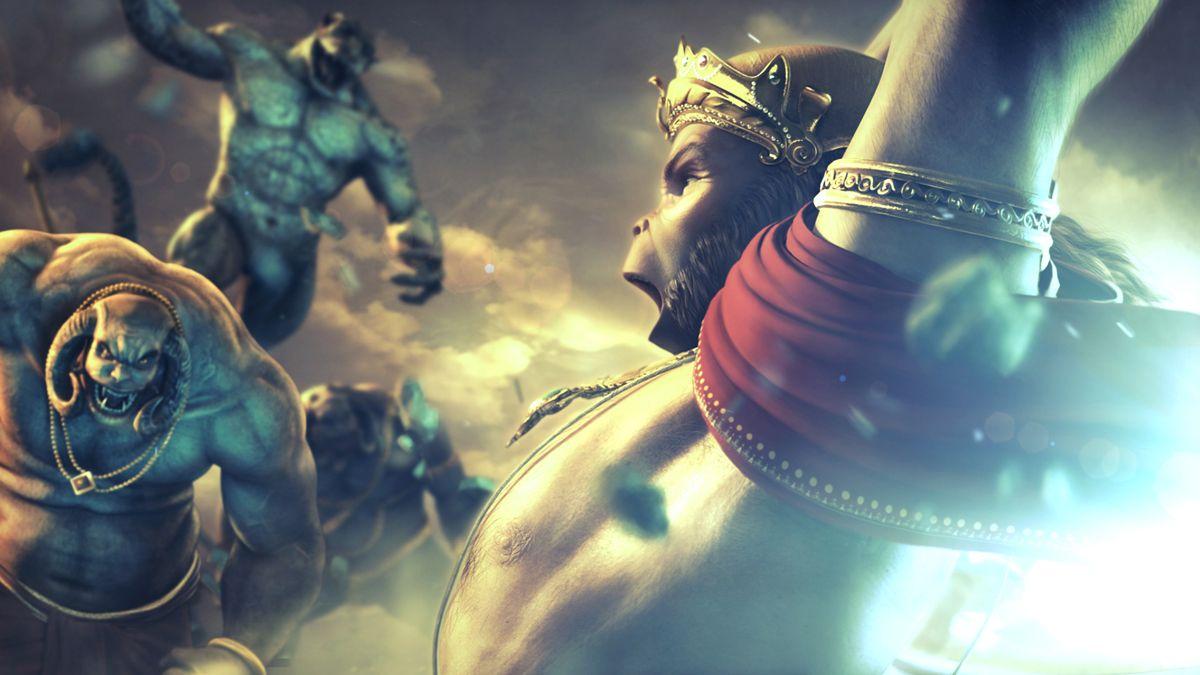 Vishnu 3d Wallpaper Direction Animation Ramayan Pinterest Animation