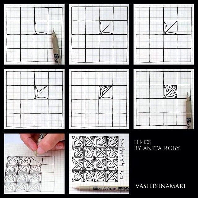 graph paper pattern crossword