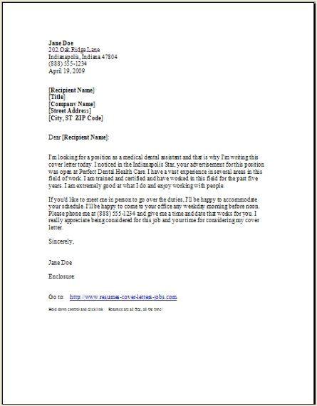 Dental Hygienist Resume Cover Letter - http\/\/wwwresumecareer - sample dental hygiene resume
