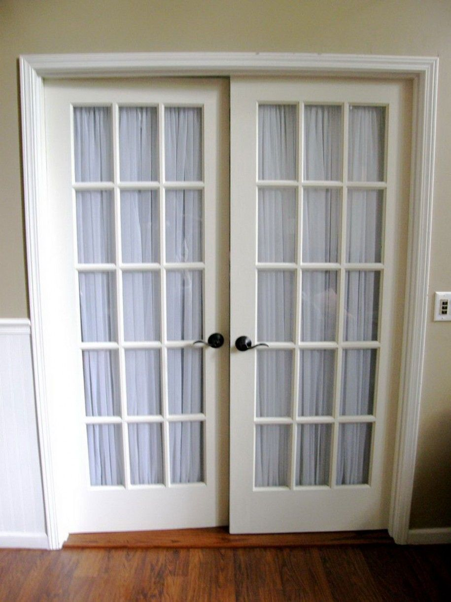 French Doors Curtain Ideas for your house @Sarah Chintomby