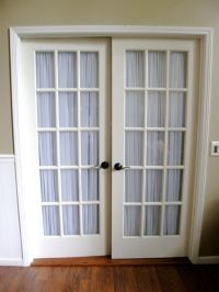 French Doors Curtain Ideas for your house @Sarah Chintomby ...