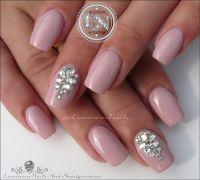 Luminous Nails: Bridal Nails with Swarovski Crystals ...