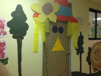 Scarecrow classroom door decoration | Classroom Door ...