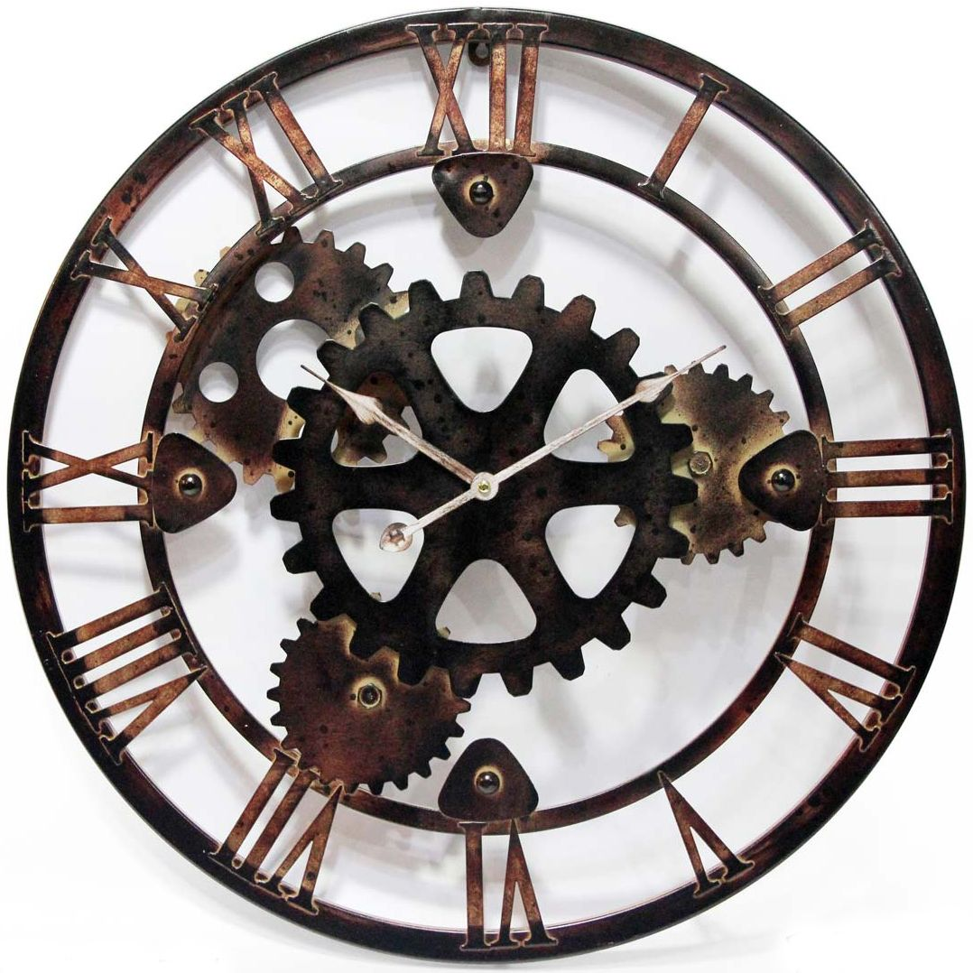 Cool Clock Hands The Daily Grind Clock By Infinity Instruments 28 Quot Metal