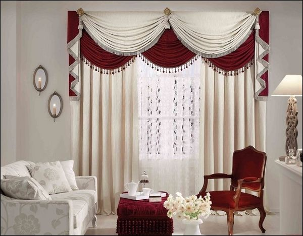 living room curtains with valance Living Room Ideas Pinterest - valances for living room