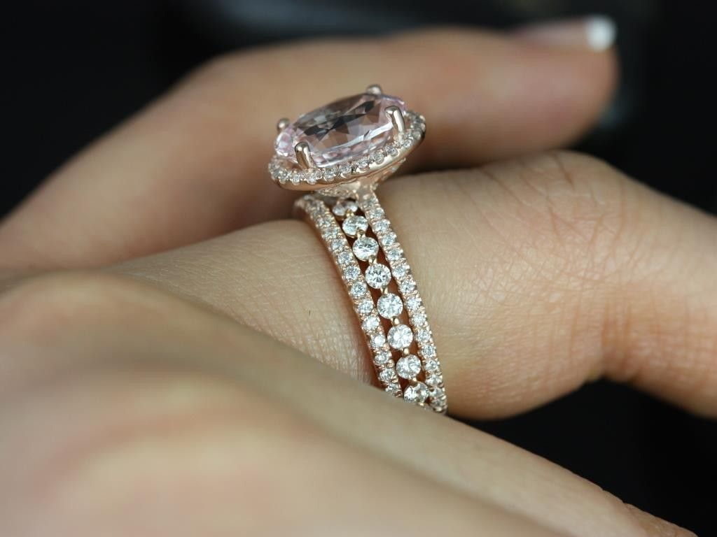 sapphire wedding bands Cushion cut champagne sapphire I think I found the ring the ring wedding band and a third ring for my husband