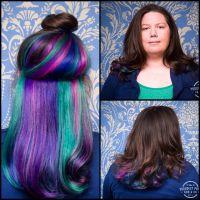 Peek-a-boo hair | EPIC hair | Pinterest | Hair coloring ...