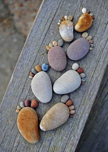 Creative Craft Ideas, Making Home Decorations with Beach Pebbles - craft ideas for the home