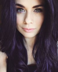 Pravana blue and violet hair color. | hair | Pinterest ...