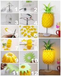 pineapple lamp   Lovely DIY   Pinterest   Pineapple lamp ...