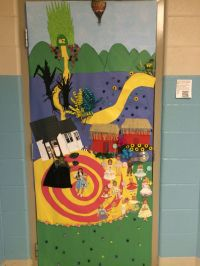 Wizard of Oz door decorating contest   DIY   Pinterest ...