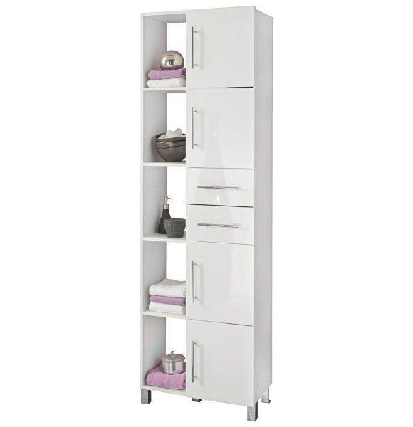 Dieser Hochschrank Der Marke XORA überzeugt Durch Funktionalität   Badezimmer  Hochschrank 60 Cm