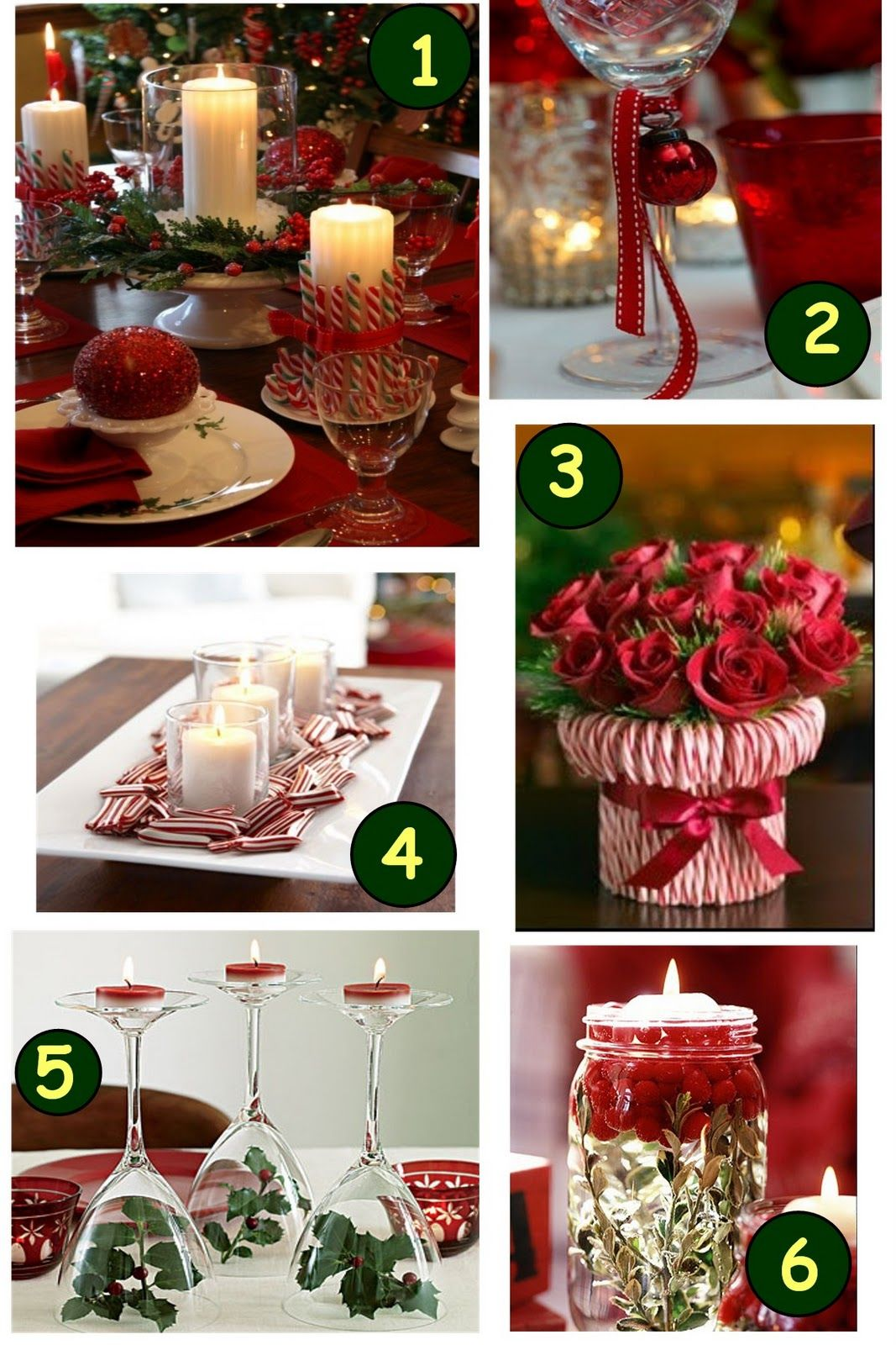 Christmas party table decorations are some great christmas decor ideas for your