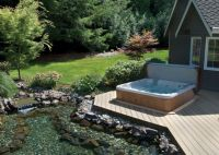 Backyard Designs With Spa | Hot Tubs & Jacuzzis ...