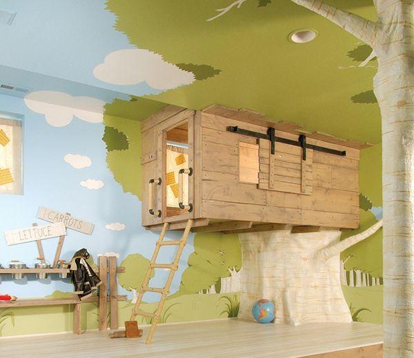kreative wohnideen kinderzimmer einrichten Ideen rund ums Haus - wohnideen zum selber bauen