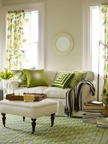 1000+ Images About Green Living Room On Pinterest | Alexa Hampton