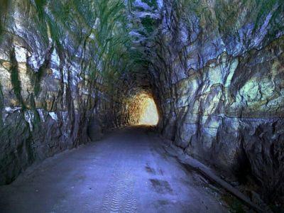 gold mine | Gold Mine Tunnel Wallpaper | mines | Pinterest