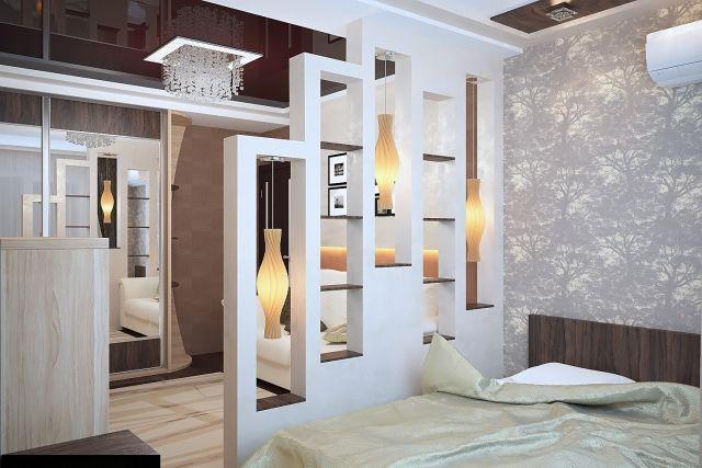 Raumteiler für Schlafzimmer - 31 Ideen zur Abgrenzung - ideen schlafzimmer