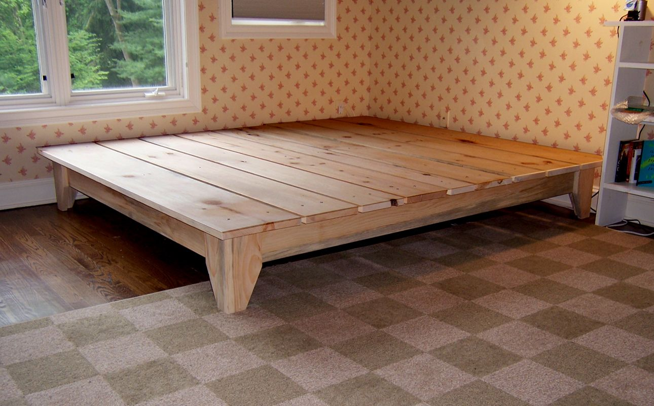 Diy Platform Bed Base Manifold Custom Furniture Platform Bed Good Wood