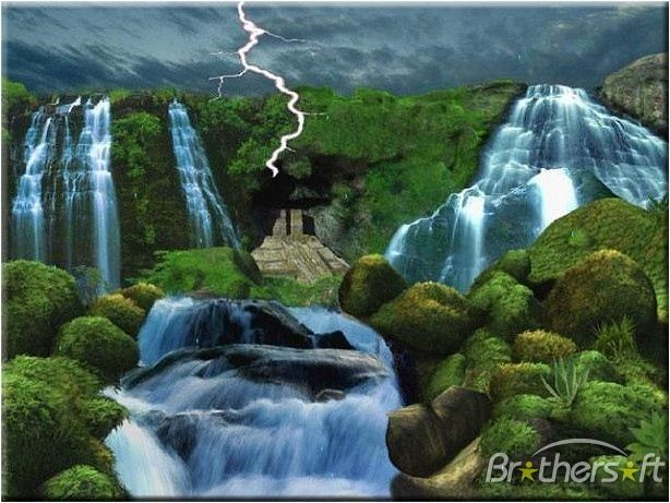 3d Moving Wallpapers For Mobile Free Download Animated Screensaver Storm Animated Wallpaper