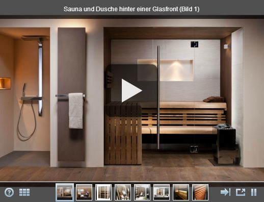 Startbild-Sauna-im-Bad-Fotogaleriejpg Badezimmer Pinterest - badezimmer mit sauna