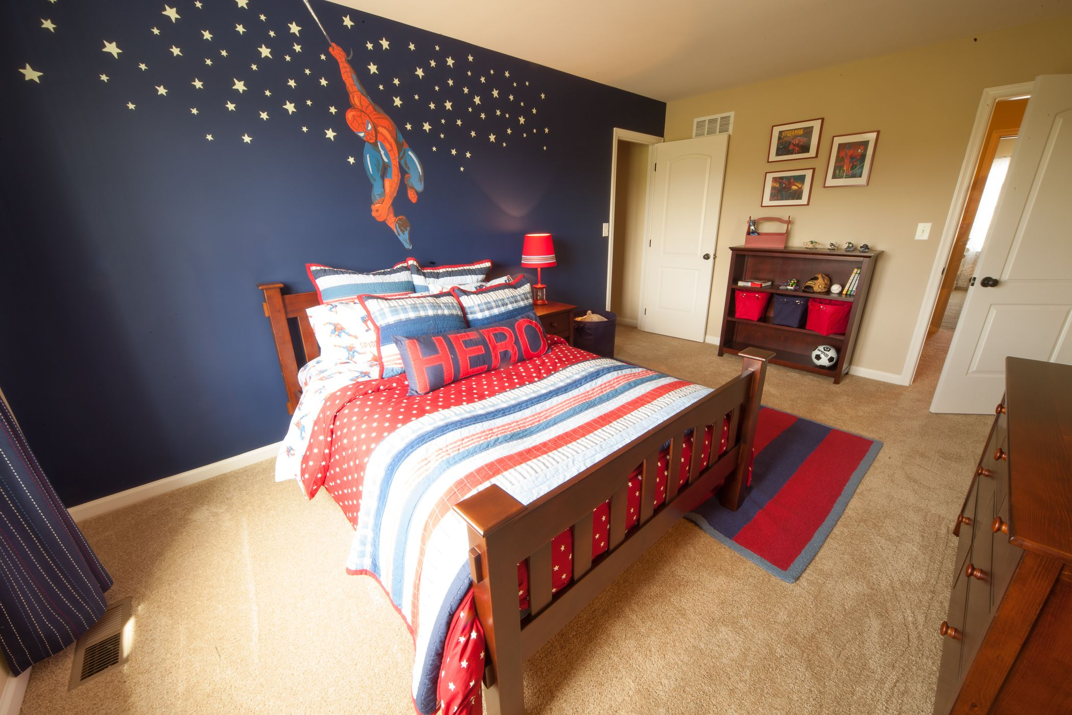 Spiderman Room Spiderman Inspired Kids Room By Tuskes Homes Love The
