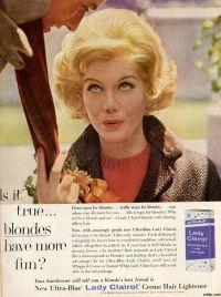 Lady Clairol (January 1961)   Vintage ads   Pinterest ...
