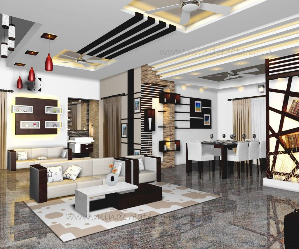 Model Homes Images Interior Interior Model Living And Dining From Kerala Model Home