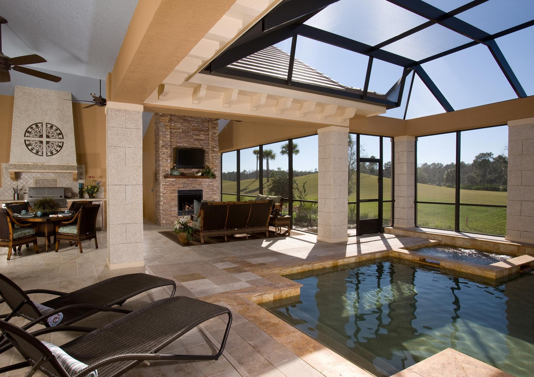 Fireplace Remodel Jacksonville Fl 75 Plus 25 Outdoor Rooms Sun Shelters To Improve Outdoor