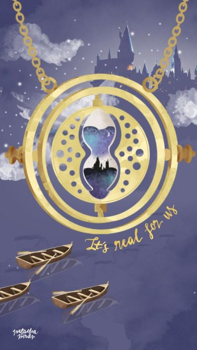 Hermione's Time Turner || Harry Potter iPhone Wallpaper | wallpapering | Pinterest | Time turner ...