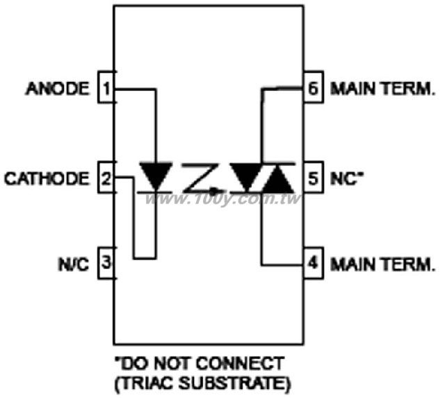 opto triac circuit auto electrical wiring diagram