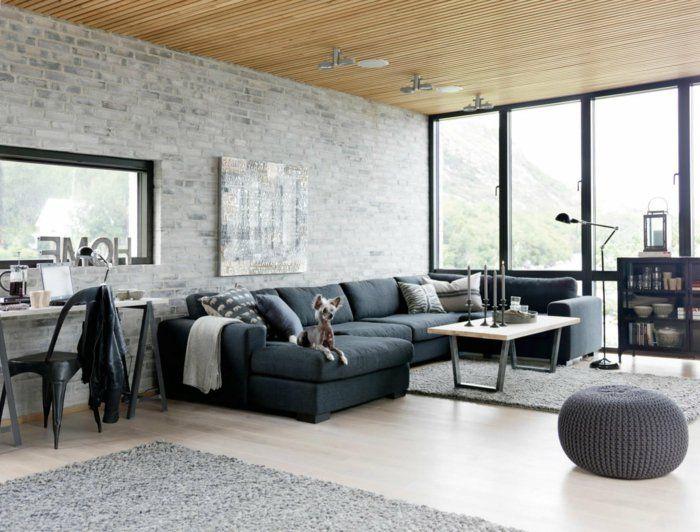 Large Size Of Innenarchitekturehrfrchtiges Steinwand Im Wohnzimmer
