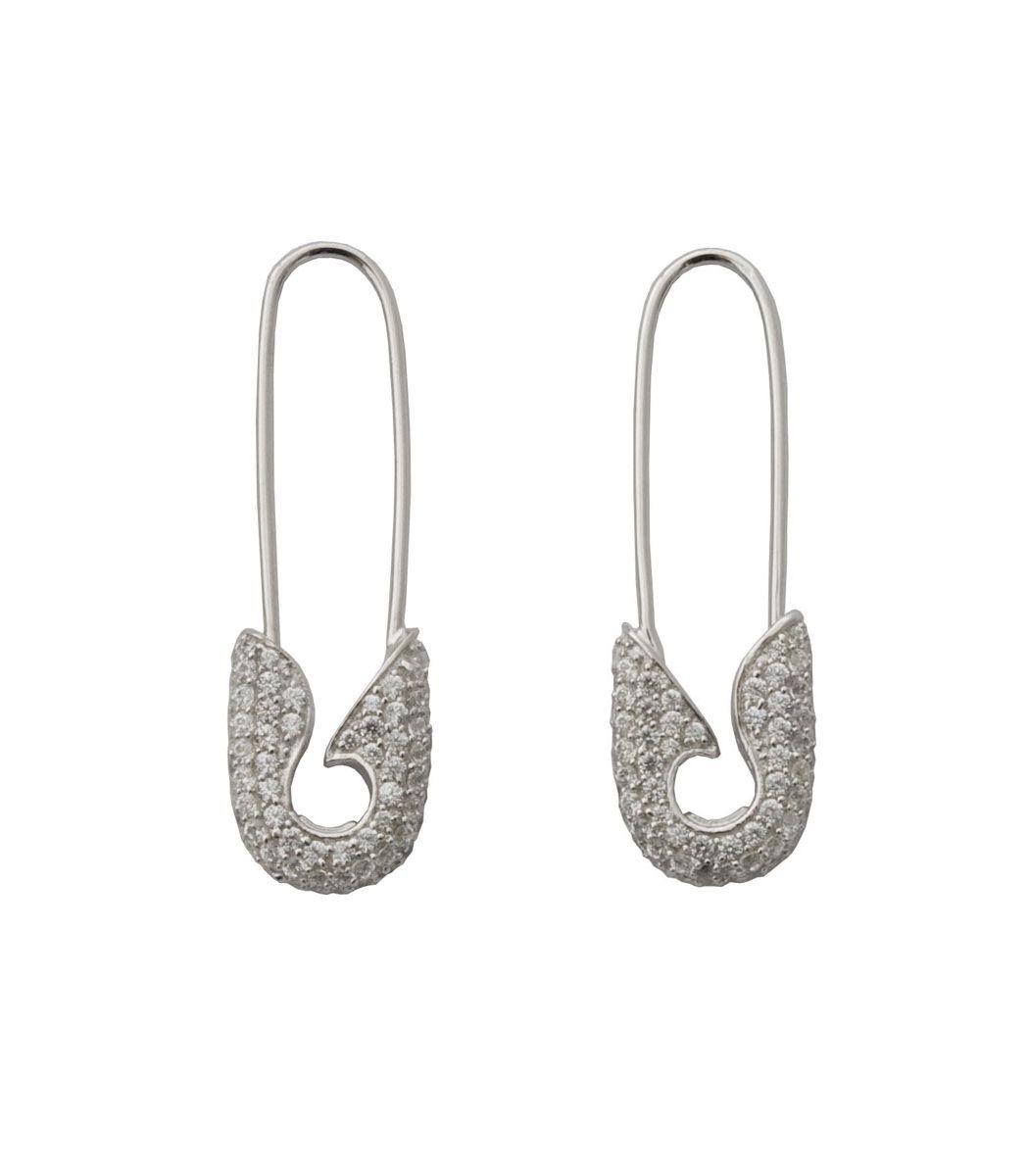 safety wedding band Tom Binns Diamond Safety Pin Earrings tiffany tiffany rings wedding bands
