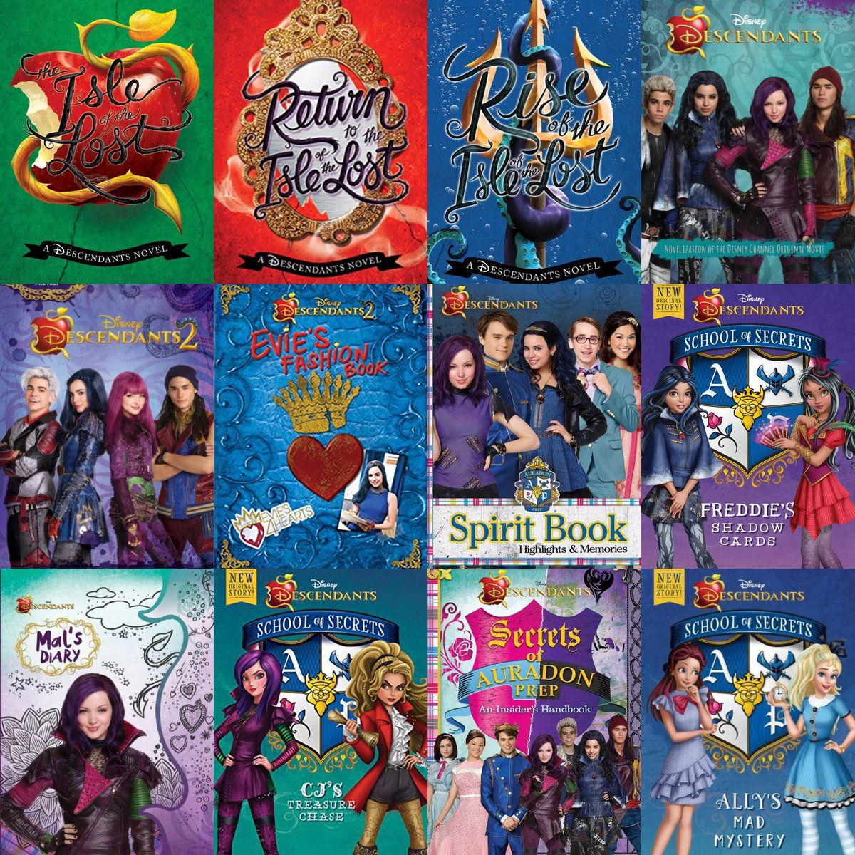 Libro De Descendientes Worldbookday Disneydescendants Descendants2