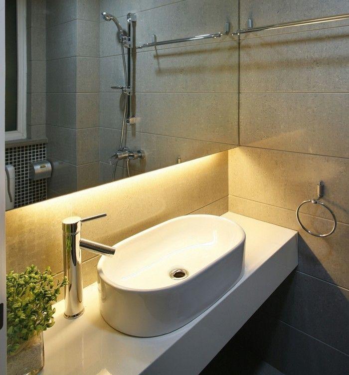 Die LED Lichtleiste - 30 Ideen, wie Sie durch LED Leisten - badezimmer leisten