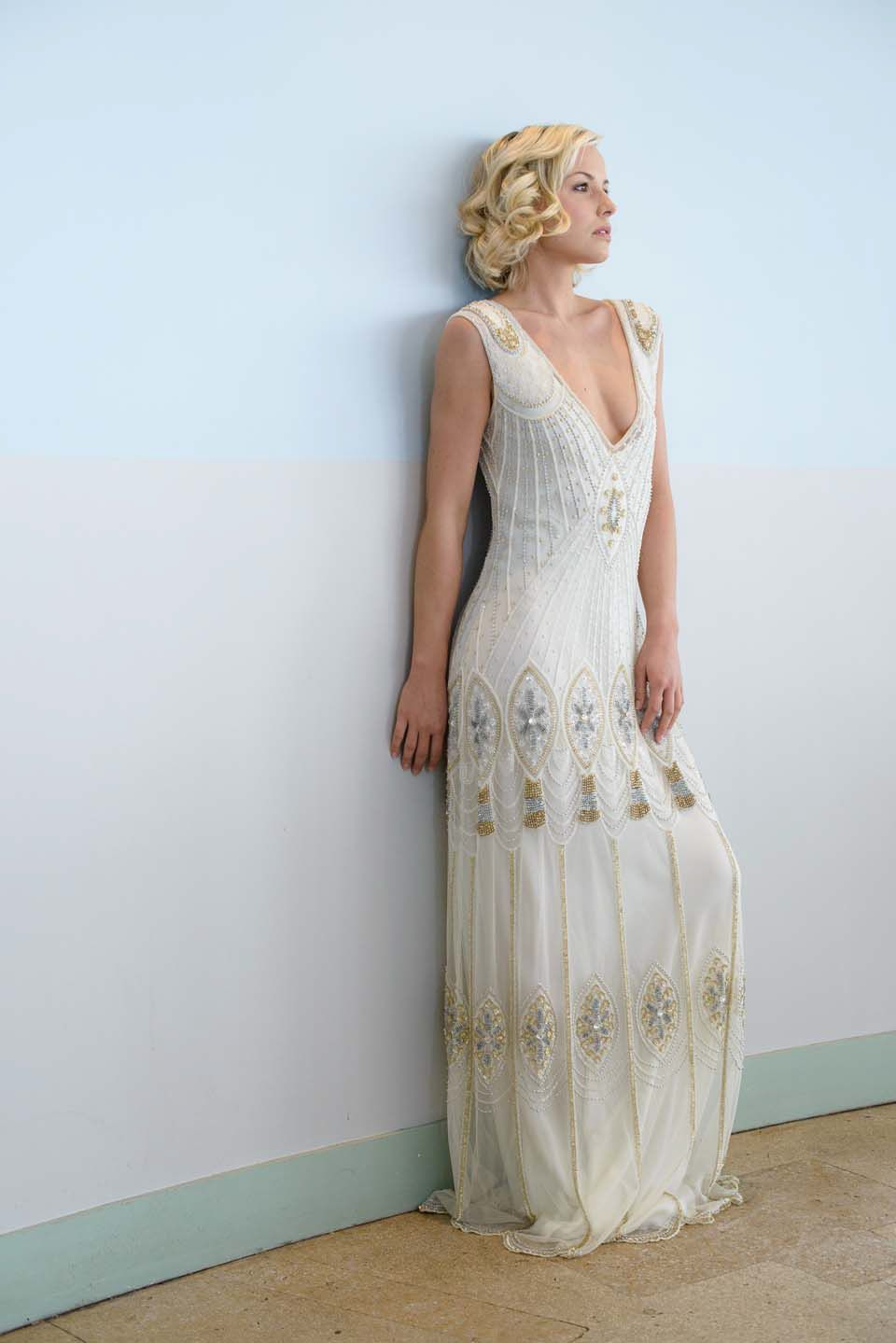 wedding dress Vicky Rowe dresses A Debut Collection of s and s Inspired Heirloom Style Wedding Dresses