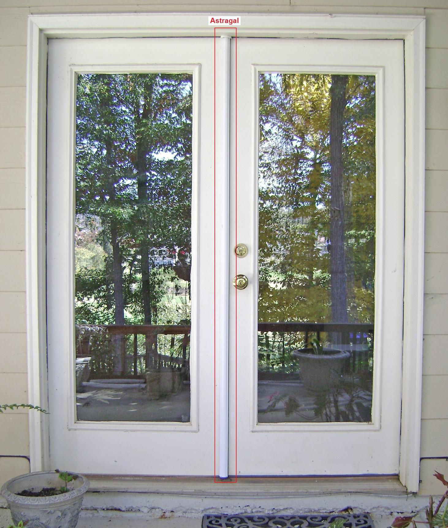 Porte Exterieur Masonite Simple French Door No Panes Hopefully Smoked Or