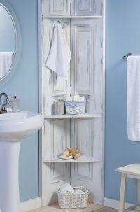 Build These Bathroom Corner Shelves from Bi-Fold Doors ...