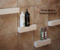 Bathroom Remodeling Design Ideas Tile Shower shelves ...