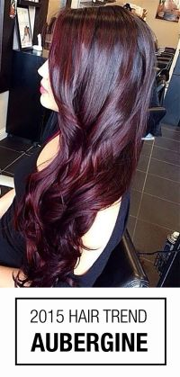 Burgundy Hair Colors on Pinterest | Burgundy Hair, Red ...