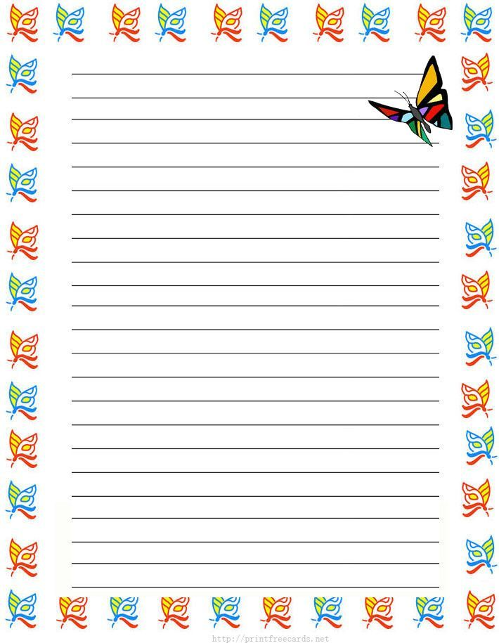Lined Stationary Template Templatebillybullock  - free printable lined stationary